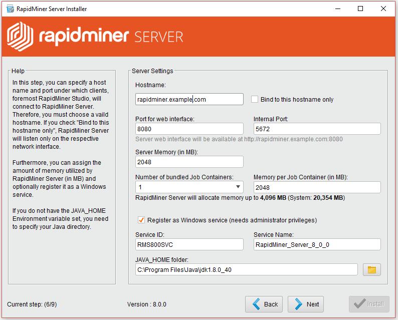 Installation - RapidMiner Documentation