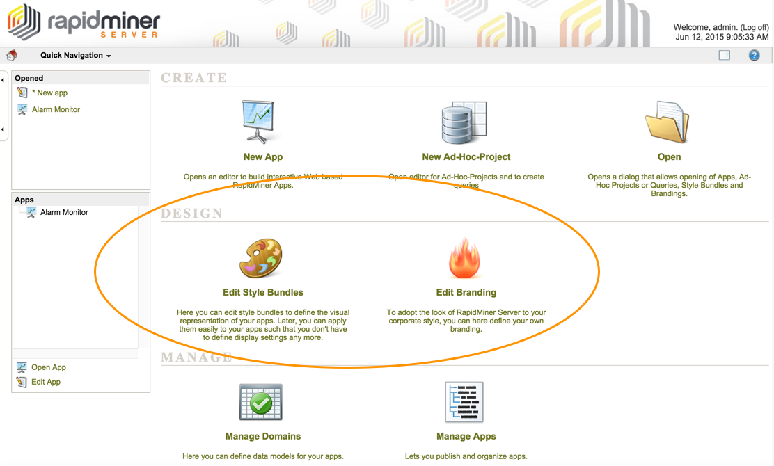 Server branding - RapidMiner Documentation