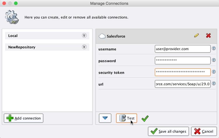 Using Salesforce - RapidMiner Documentation