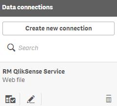 Import Web Service to Qlik Sense - RapidMiner Documentation