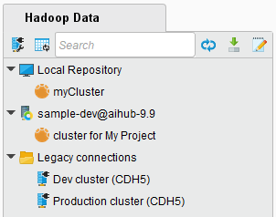 Hadoop Data view - RapidMiner Documentation